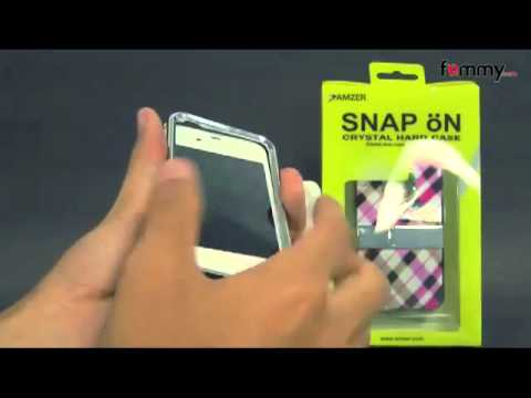 Amzer Hard Shell Snap-On iPhone 5 Cases Review in HD - iPhone 5 Accessories