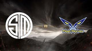 Team SoloMid ( TSM ) vs Flash Wolves ( FW ) | MSI 2017 Grup Aşaması 5. Gün