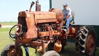 First Start In Over 20 Years! Rare Allis Chalmers D19 High Crop - Classic Tractor Fever