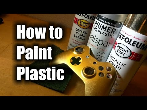 How To Paint Plastic - HD - The Basics