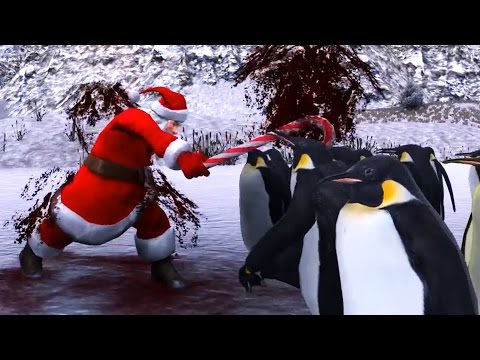 SANTA VS. 1,000 PENGUINS | Ultimate Epic Battle Simulator #4