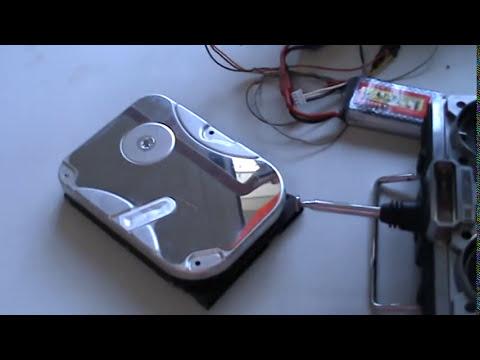 Arahal  motor brushless reciclado de un disco duro  Ramos