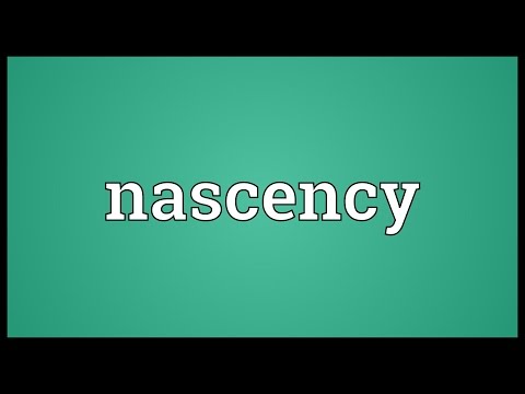 Header of nascency