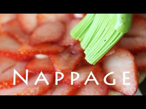 Nappage Recipe | Strawberry Glaze for Fruit Tarts