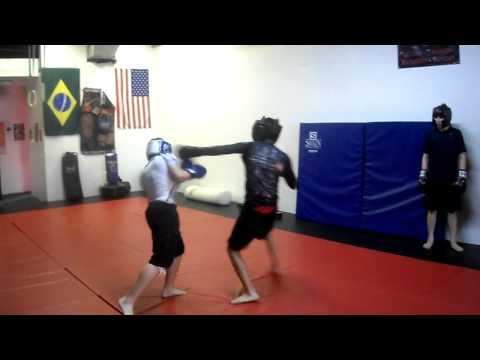 Teen's MMA Class (Pad work and sparring) Image 1