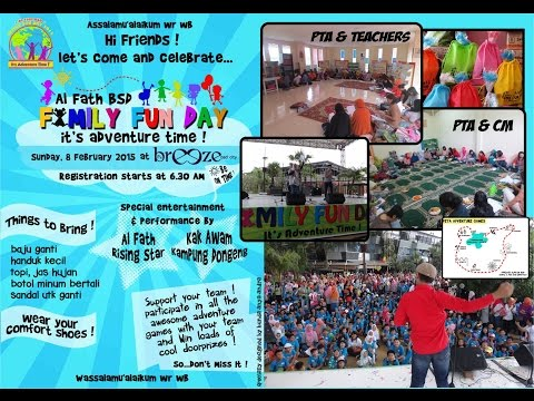 FFD (Family Fun Day) SD Al Fath BSD 08/02/2015