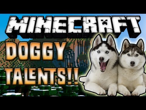 Minecraft 1.6.2 - Review de Doggy Talents MOD - ESPAÑOL TUTORIAL