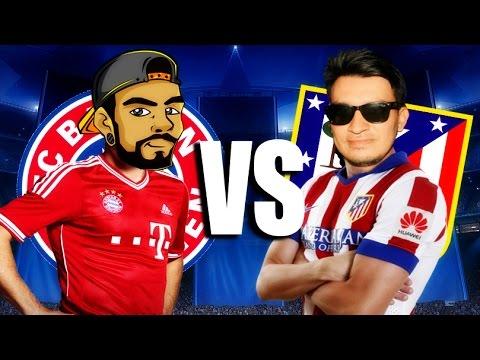 Bayern Múnich vs Atlético de Madrid - SEMIFINAL - FIFA 16
