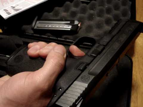 Smith and Wesson M&P 9 40 45 Simplified Slide Removal Process