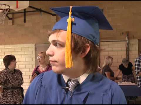 Ottumwa Christian School shines the spotlight on its one graduate