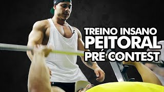 TREINO DE MONSTRO - Peitoral Pré Contest com Victor Luna