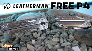 NEW Redesigned Leatherman FREE P4 vs the Wave! Is this the BEST multi-tool available?