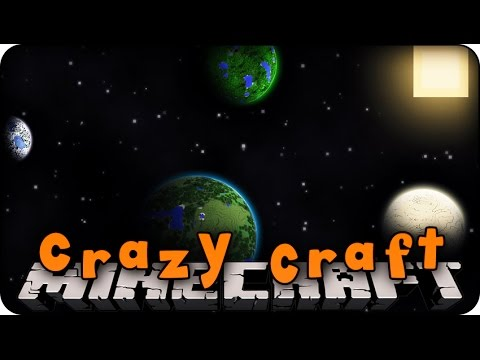 Minecraft Mods - Crazy Craft 2.0 - Ep # 89 'space Station?!' (superhero Mod) video