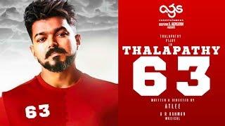 OFFICIAL: Thalapathy 63 Set Work Begins!   Thalapathy Vijay   Nayantara   Atlee
