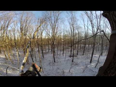 Ohio January Deer Muzzleloading Hunt GoPro 01/04/2014