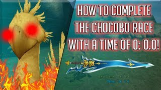 How to Beat The Chocobo Race in Final Fantasy X!