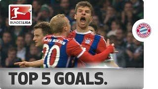 Thomas Müller – Top 5 Goals 2014/15
