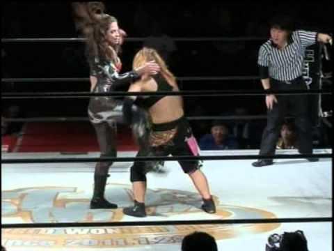 Dark Angel (Sarah Stock) vs. Natsuki*Taiyo