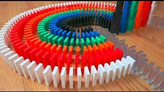 31 UNREAL Domino Tricks! (10,000 Dominoes)