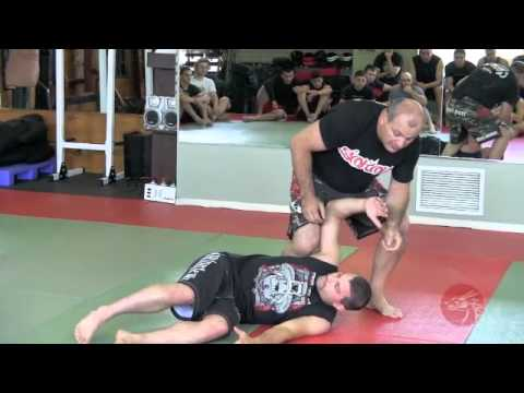 Gokor Chivichyan Leg lock specialist at Fang Shen Do's 2012 Fight Camp Image 1
