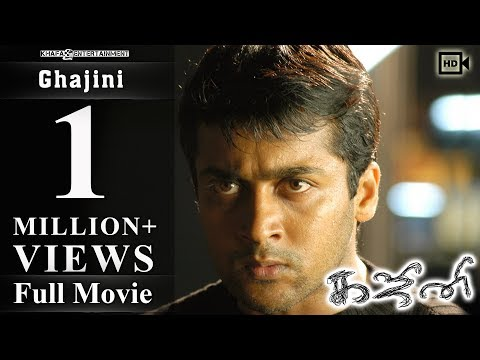 Ghajini - Full Movie | Suriya | Asin | Nayantara | A.R. Muru