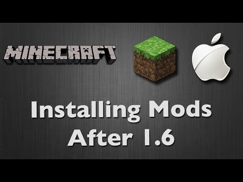 Minecraft 1.6+ - Installing Simple Mods (Mac) [HD]