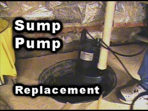 Sump Pump Replacement