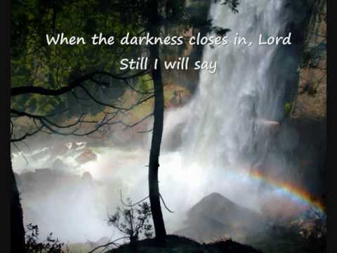 Matt Redman - Blessed Be Your Name Lyrics