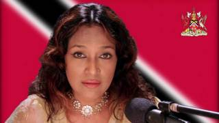 Parvati Khan in a moving rendition of the Trinidad & Tobago's national anthem (31-Aug-2011)