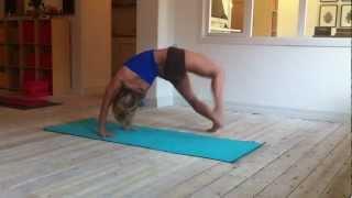 Parivrttasana B: a work in progress from Ashtanga Yoga Fourth Series