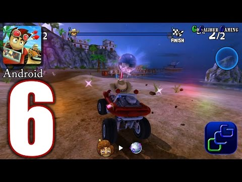 Beach buggy racing shark harbor secret shortcut