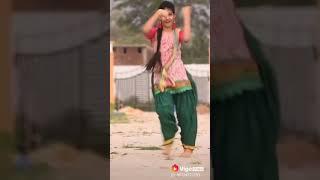 Tere ishk ne mari kudi kajri kuwari song dance cute girl