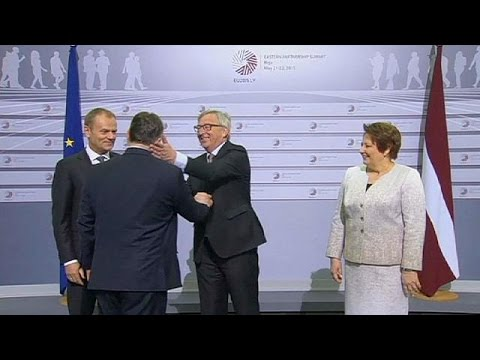 'Here comes the dictator' - Juncker's cheeky welcome for Hungarian PM