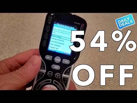 54% Off Best Universal Remote Control ◄ Remote Controls Review ► The Deal Guy