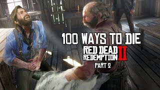 100 Funny Ways to Die in Red Dead Redemption (Part 2)