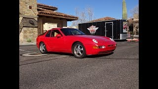 1995 Porsche 968 in Guards Red Paint & Engine Sound on My Car Story with Lou Costabile