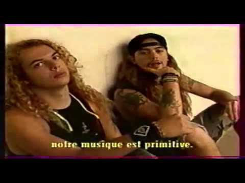 Sepultura 1991 interview from Arte TV MegaMix