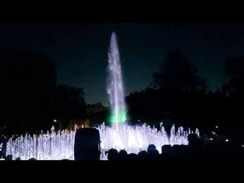Otwarcie Placu Litewskiego W Lublinie; Pokaz Fontann Multimedialnych