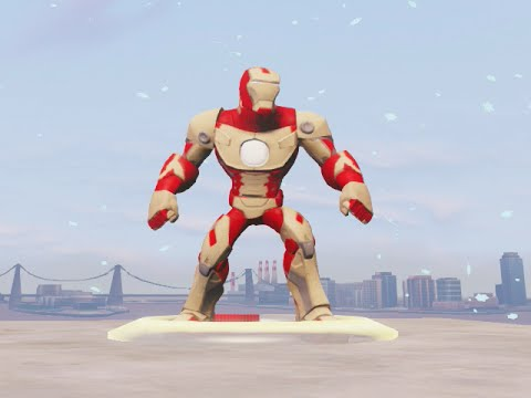 DISNEY INFINITY 2 MARVEL SUPERHEROES - IRON MAN MARK 42