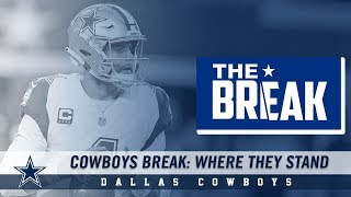 Cowboys Break: Where They Stand | Dallas Cowboys 2018