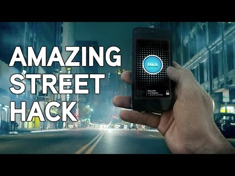 An amazing smartphone app turns common people into powerful hackers and hidden cameras record their reaction as they unwillingly hack a street of Los Angeles. You won't believe what they do...