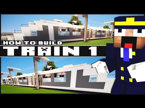 Minecraft Vehicle Tutorial - Train - Part 1