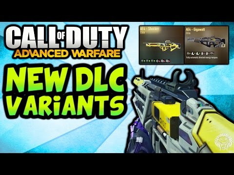 COD Advanced Warfare: NEW DLC VARIANTS! AE4 Elite Weapons From Supply ...