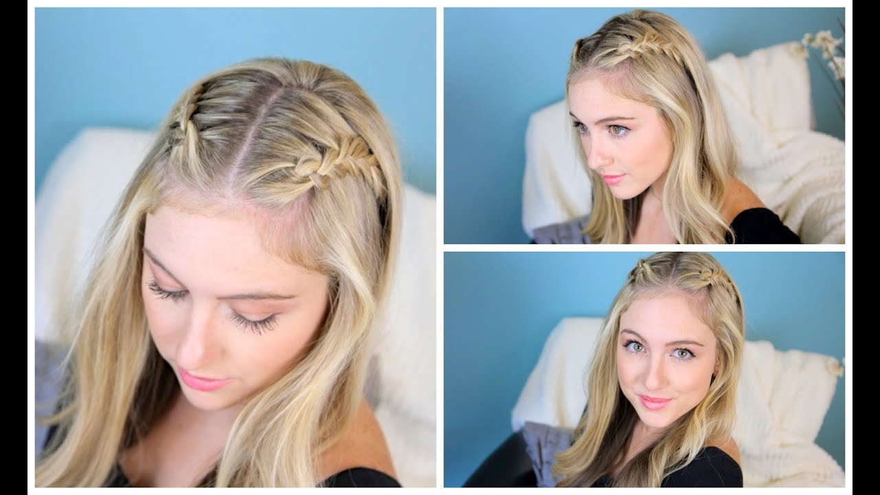 Hairstyles You Can Do For School : Double Dutch Lace Braids Back-to-School Hairstyles - YouTube