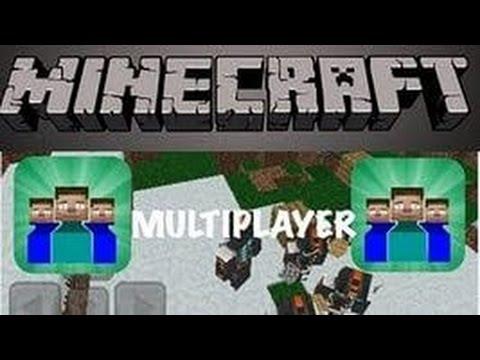 Как играть по сети в minecraft pe