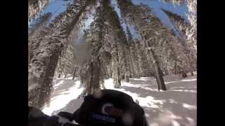 Sick Backcountry Sledding 2012-2013, Arctic Cat M8 BD Turbo, Colorado, Boondocking with Ryan Smith,