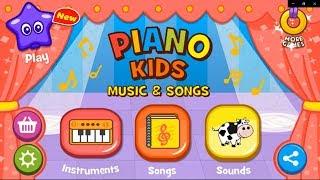Trò chơi âm nhạc cho trẻ em | Piano Kids – Music & Songs