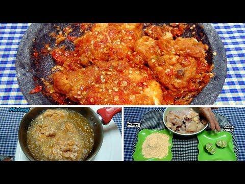 Resep & Cara Membuat Ayam Geprek Paling Simpel Super Pedas
