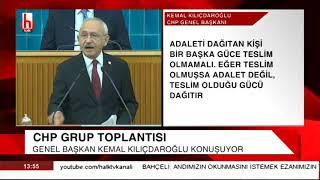 CHP Grup Toplantısı - Kemal Kılıçdaroğlu'ndan AKP ve Erdoğan'a sert sözler - 6 Kasım