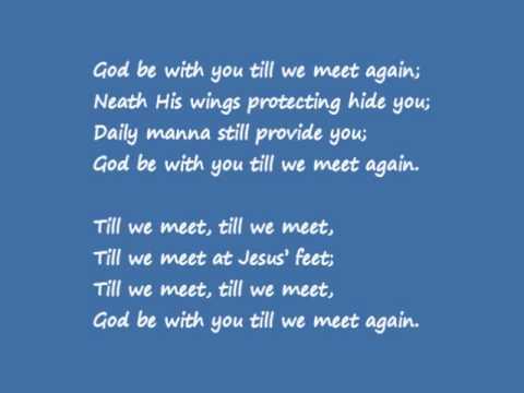 You Till we Meet Again